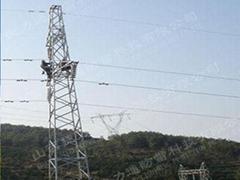 30m防雷拉线塔安装山西公司