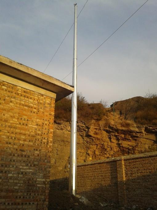 GH系列13米獨立避雷塔 1