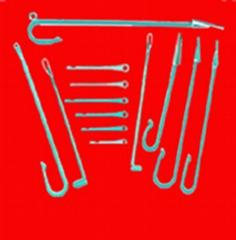 織帶機織針及其配件