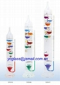 Galileo Thermometer with barometer