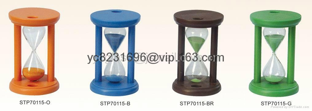 Sand Timer with toothbrush holder STP70115