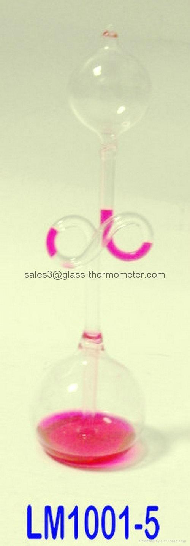 Hand-crafted Love Meter/Glass Love Craft/Liquid Glass CraftM 1