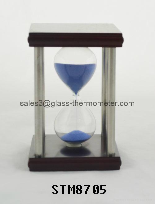 Best selling sand timer with square metal frame-STM8705 1
