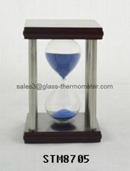 Best selling sand timer with square metal frame-STM8705