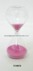 High quality 3mins Pink Sand Timer-STG4080