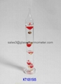 Glass Galileo Thermometer without
