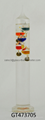 Decorative Glass Galileo Thermometer for