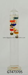 Decorative Glass Galileo Thermometer for house-GT473705