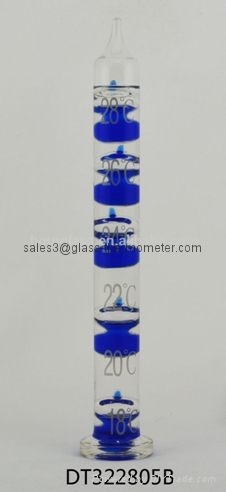 Decorative Glass Galileo Thermometer-DT322805B