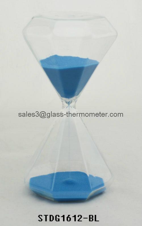 Plastic sand timer STDG1612-RD 1
