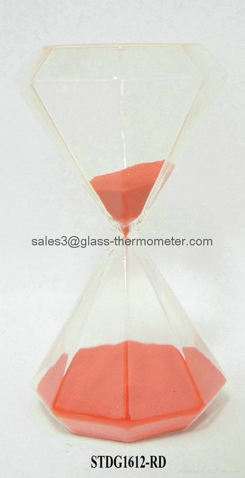 Plastic sand timer STDG1612-RD 2