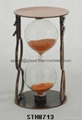 eatime sand timer with round copper