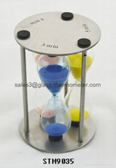 Best selling sand timer with metal frame in the market-STM9035