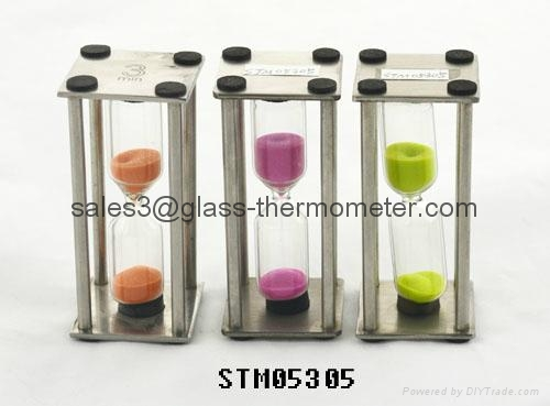 Best selling sand timer with square metal frame in the market-STM05305 Series 1