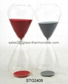 Medium size hourglass sand timer with