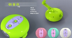 LED多功能手电筒收音机