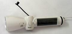 LED太陽能手搖發電收音機