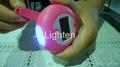 Solar & Cranking LED flashlight