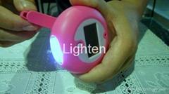 LED太陽能&手搖發電手電筒