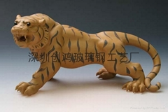 供应玻璃钢动物雕塑工艺品