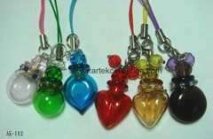 Essential oil  Perfume bottle  Pendant Necklace