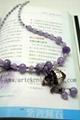 AS-002 紫鋰灰石精油瓶項