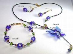 Butterfly jewelry set 1