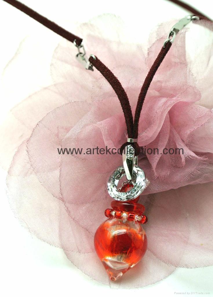 Essential oil  Perfume bottle  Pendant Necklace  5