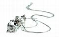AN-298 經典華麗香氛項鍊(白K、鎢金)