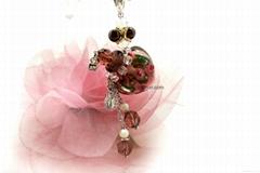 AN-706 玫瑰花園香氛項鍊