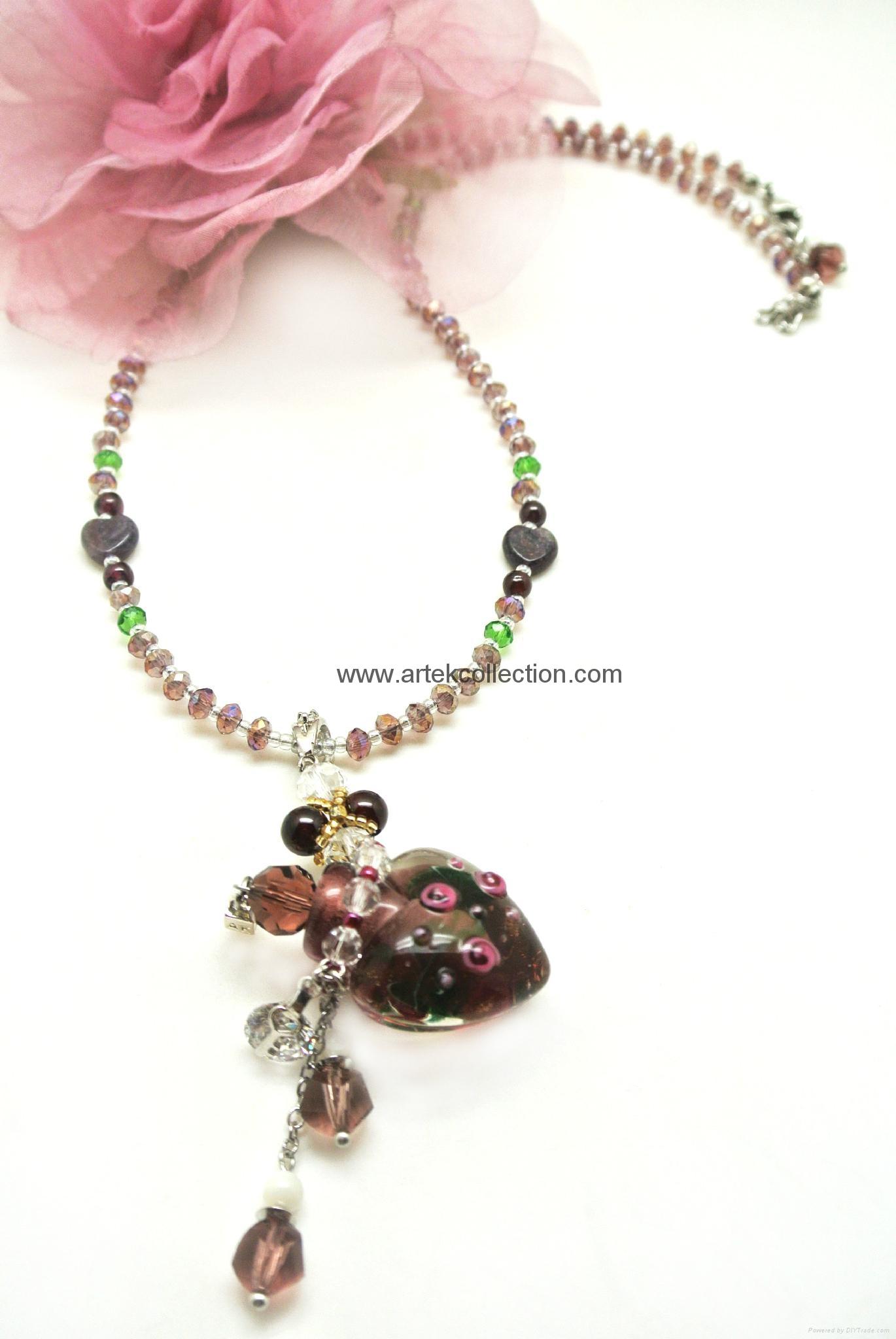 Essential oil  Perfume bottle  Pendant Necklace  3