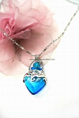 Essential oil  Perfume bottle  Pendant Necklace Fragrance Jewelry