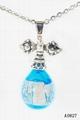 AK~香氛珠寶琉璃精油瓶項鏈時尚精品毛衣吊墜『金剛杵』