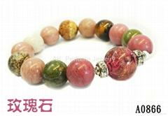 AK香氛珠寶有限公司『半寶石手鍊』精油芳療