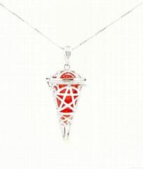 Pendulum Essential Oil Necklaces