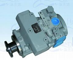混凝土搅拌车变量柱塞泵马达A4VTG90