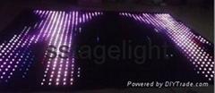 3m*8m rgb led vision curtain