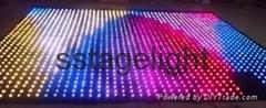 3m x 2m LED vision curtain