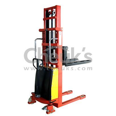 卓仕半电动堆高车-SPN1016 1