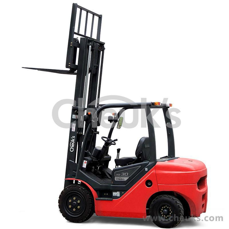 卓仕3.0吨内燃平衡重式叉车 KB30 3