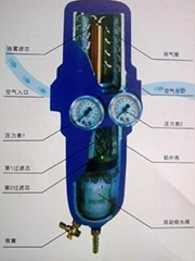 日本三合一空氣乾燥過濾器T-107