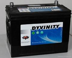 大力王汽车免维护蓄电池80D2