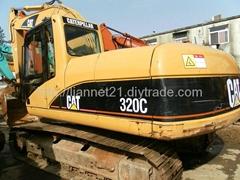卡特320C挖掘機
