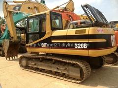 卡特320B挖掘機