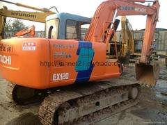 二手日立EX120-2 液壓挖掘機