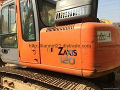 日立ZX120二手挖掘机