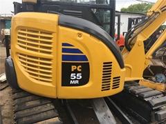 二手小松PC55MR-3挖掘機