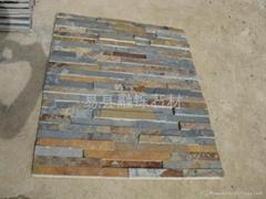 natural rusty slate wall stone panels