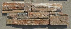 Natural stone cladding panel -- cement based