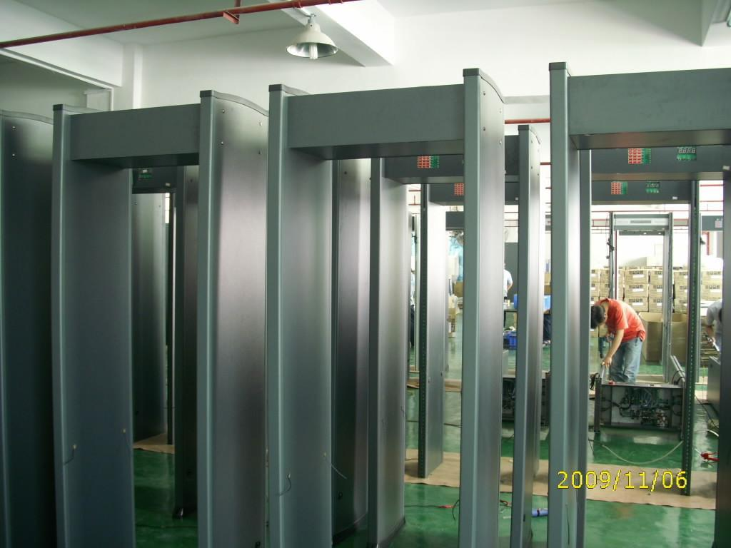 Metal detector security doors 4